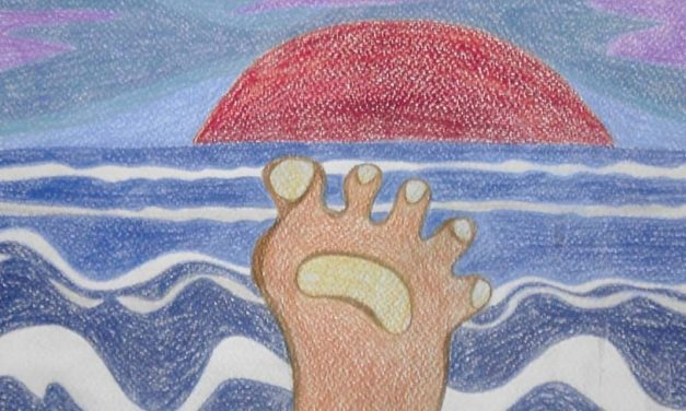 Irene Verheij – Voetwassing aan zee